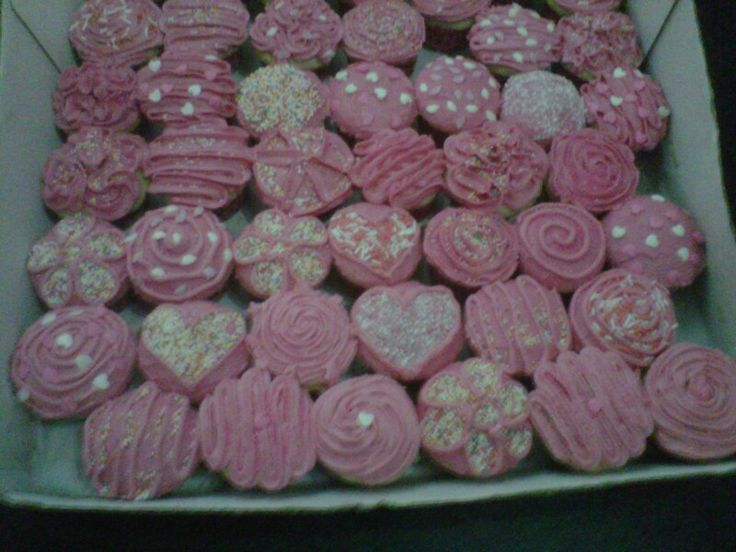 Party : Pink cupcakes
