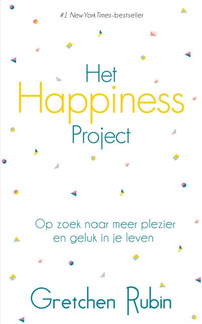 Het Happiness Project. Gretchen Rubin heeft alles: een man, twee leuke kinderen, een mooi huis en een goede baan, maar toch is ze niet zo gelukkig als ze zou willen zijn. Ze besluit zich een jaar lang te wijden aan het vinden van geluk.