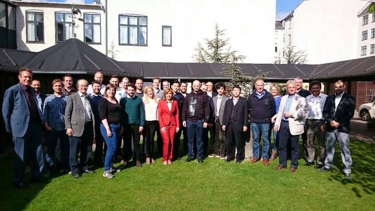 Blueprinter partner meeting 2015 30.4.2015 Kööpenhaminassa. #3dprinter #3dprinting #3dtulostus #3dtulostin