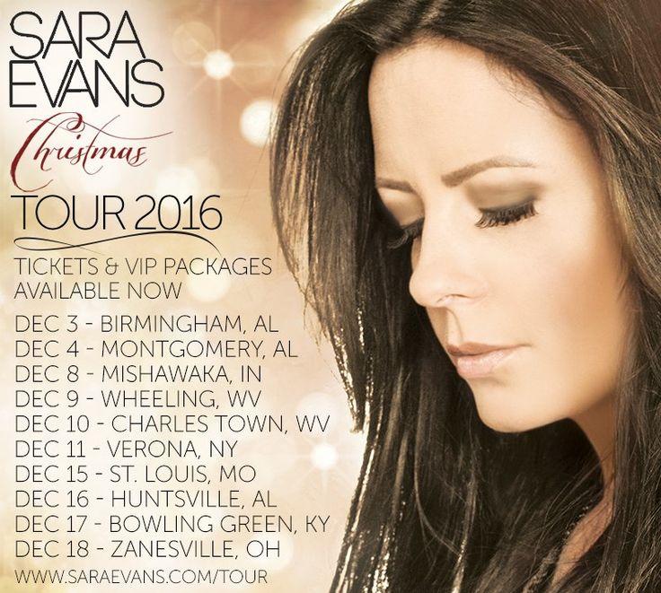 "Sara Evans announces ""At Christmas"" Tour dates #saraevans #AtChristmasTour #AtChristmas"