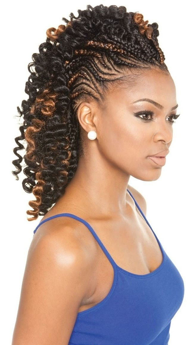 Braiding Weave In Hair 105