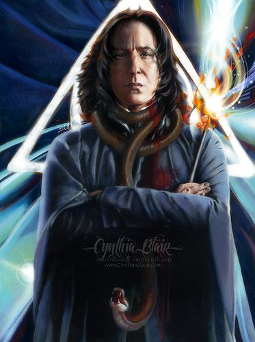 Severus Snape   ALWAYS! my favourite character from Harry Po…   Flickr