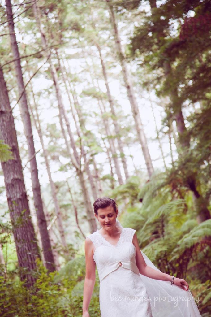 Bridal  Weddings ~ New Zealand www.becmunden.co.nz
