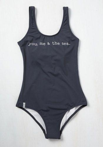 Friends Fjord-Ever One-Piece Swimsuit | Mod Retro Vintage Bathing Suits | ModCloth.com