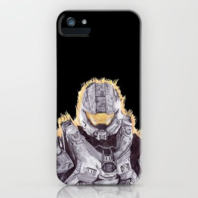 Halo Master Chief iPhone & iPod Case by DeMoose_Art - $35.00 Free Worldwide Shipping Over $75 #sold
