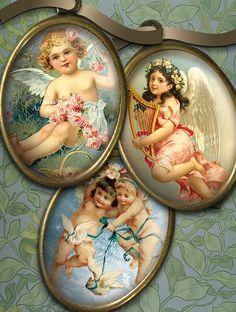 Victorianas Ángeles y querubines imágenes por steamduststudios