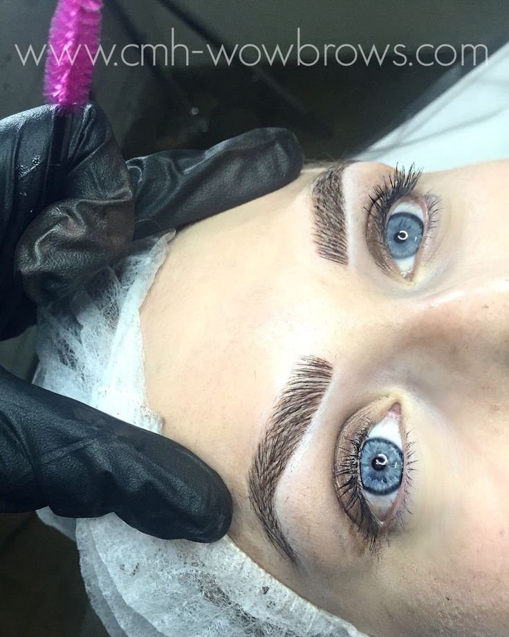 Hair Stroke / Feather Touch / Microblading / Microstroke / Tattooed Eyebrows Instagram: @taylamade_wowbrows