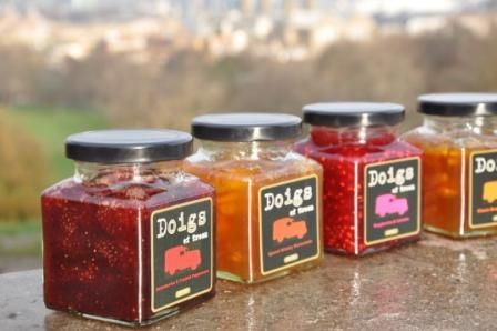 Doigs of Troon' - delicious home made chutneys and jams from £4. Every Sat-Sun in the Market.