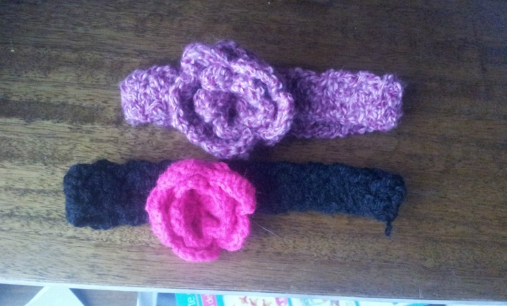En venta: Cintillo Para Bebé A Crochet