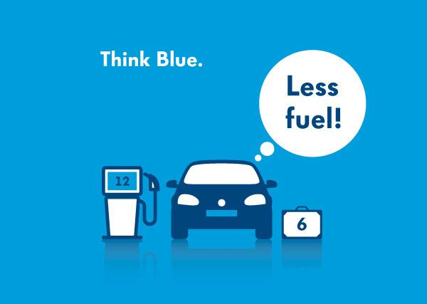 Volkswagen - Think Blue icon direction by Philippe Intraligi, via Behance