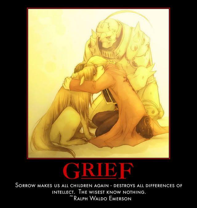 FMA Grief. Saddest episode ever....