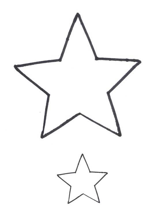Star Pattern - free applique patterns - great site