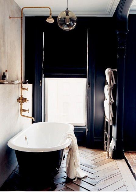 LUXE BATHROOMS Copper The Floor And Window