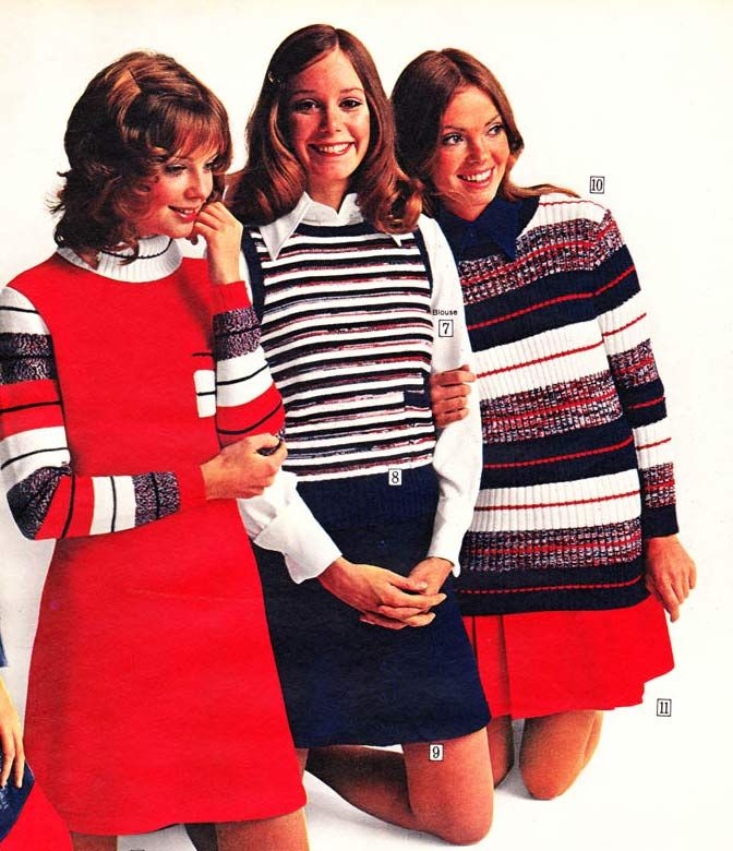 Sure, gender roles still played a part in wardrobe choices, but compared to previous generations, women's fashion in the 1970s was nothing short of revolutionary. Description from retrowaste.com. I searched for this on bing.com/images