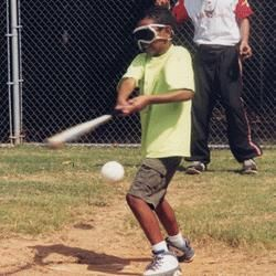 This beep baseball equipment are a great way for visually impaired students to participate in baseball and softball activities. The equipment has a beep sound when it is turned on so students who cannot see can hear where the ball or base is. You could also make everyone blindfolded and strictly play by listening so students understand how it feel to be visually impaired.