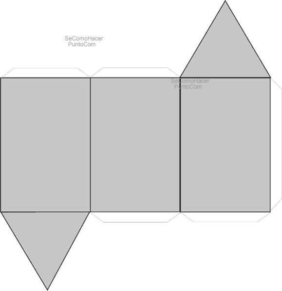 Resultado de imagen para caja rectangular para armar
