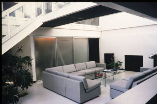 Koenig residence, living room, Brentwood, Calif., after 1985?. http://digitallibrary.usc.edu/cdm/ref/collection/p15799coll42/id/176