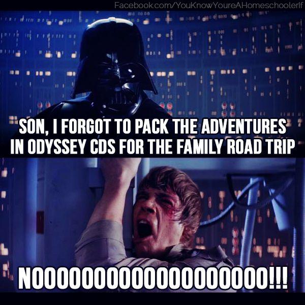 Adventures in Odyssey meme   homeschooler
