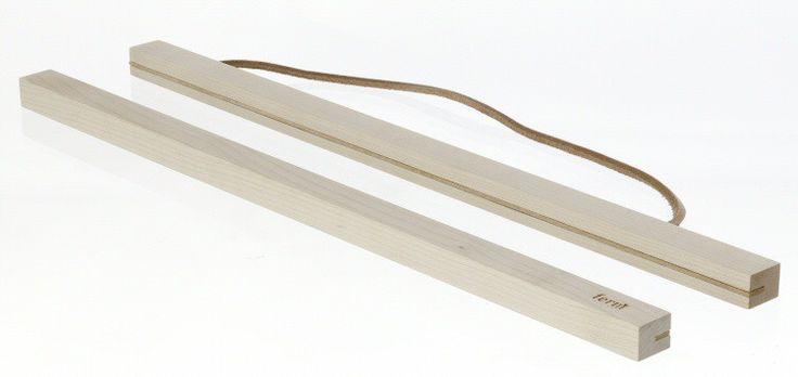 Ferm living houten frame large, systeem ophangen poster, 2X voor poster van afmetingen 22.7 x 42 cm
