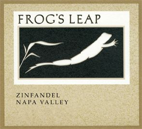 Frogs Leap Zinfandel 2009 - my favorite wine...when I used to drink, that is!