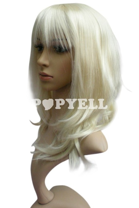 #Perruque femme de 45cm Longueur Avec naturelles a prix pas cher chez Popyell.com