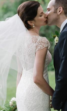BHLDN Leila wedding dress currently for sale at 78% off retail.