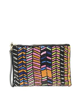 I would really appreciate this sequined clutch for my birthday...if anyone is looking :)