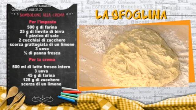 Dolci dopo il tiggì: Bomboloni con la crema di Alessandra Spisni a La P...