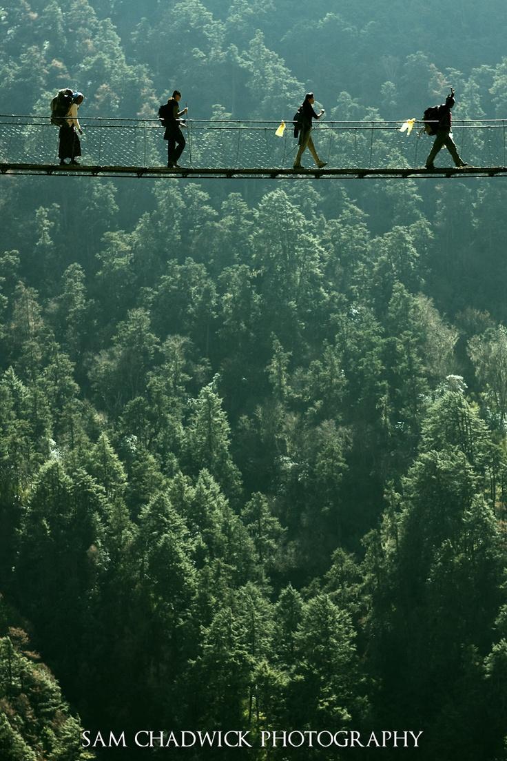 Trekking in Langtang Valley, Nepal