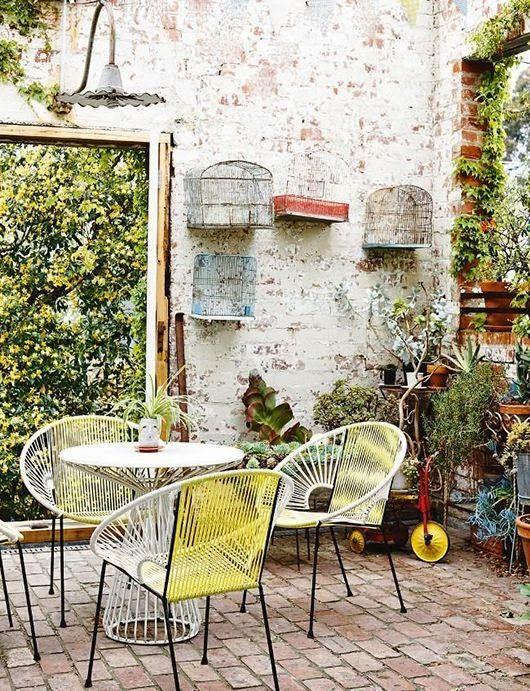 Méchant Studio Blog: outdoor bohemian style, terrasse