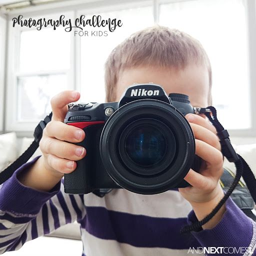 Photography Challenge for Kids #autism #asd