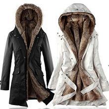 De gran tamaño de Cachemira de algodón acolchado Mujeres de la chaqueta de invierno gruesa capa larga abrigos Con Capucha parka invierno de las mujeres femeninas ropa TT168(China (Mainland))