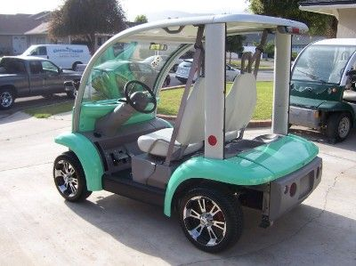 Street-Legal Golf Carts | Details about 2002 Ford Think Street Legal Golf Cart - Custom 2 Seater ...