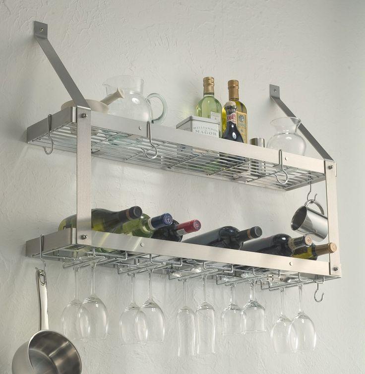 Restaurant Kitchen Racks best 25+ stainless steel kitchen shelves ideas on pinterest