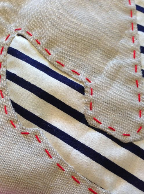 Family Ever After....: Sewing Tutorial: Reverse Applique Anchor
