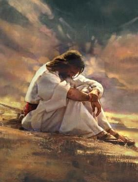 Lord Jesus feels deeply for us, never forget that no matter what your circumstances are!!! HE LOVES YOU MORE THAN YOU COULD POSSIBLY KNOW OR UNDERSTAND!!! <3 <3 <3