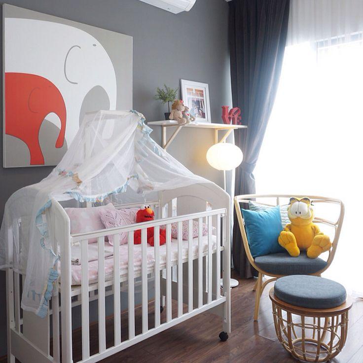 Nursery room designed by vindodesign.com