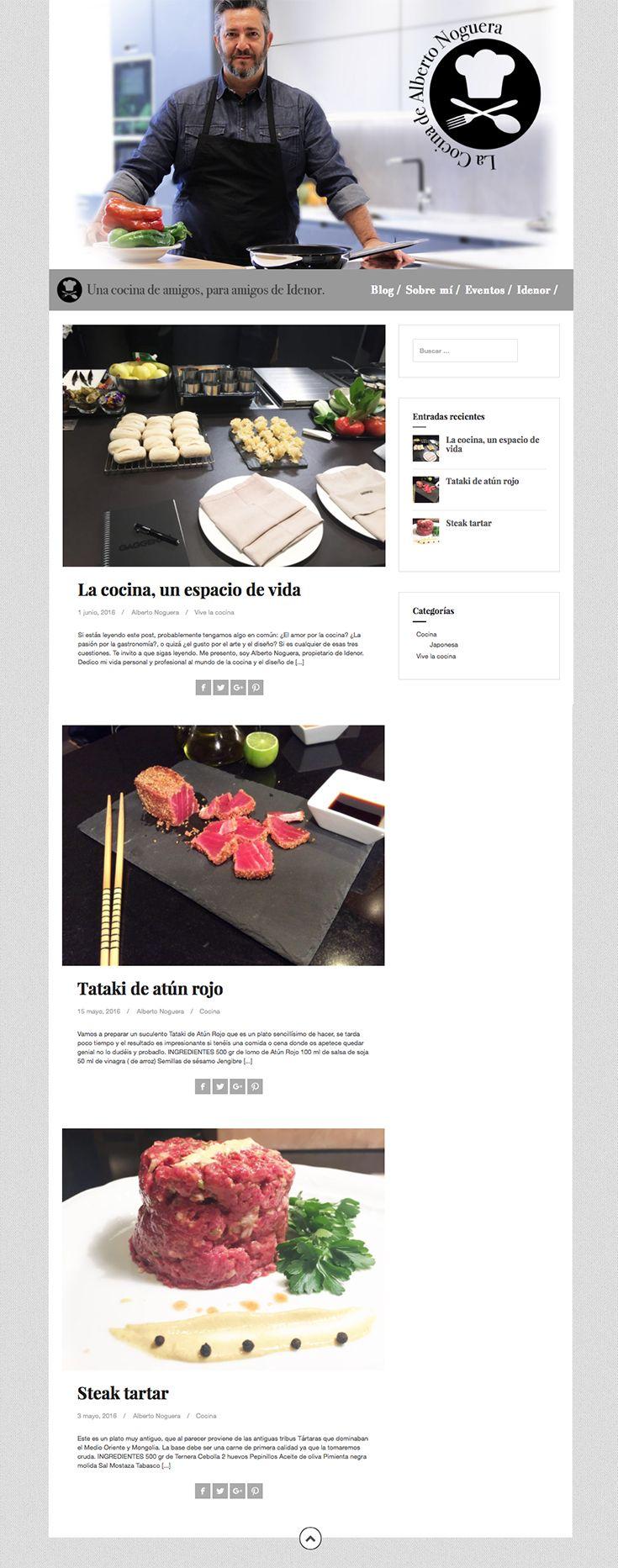 Blog de Alberto Noguera, propietario de Idenor.