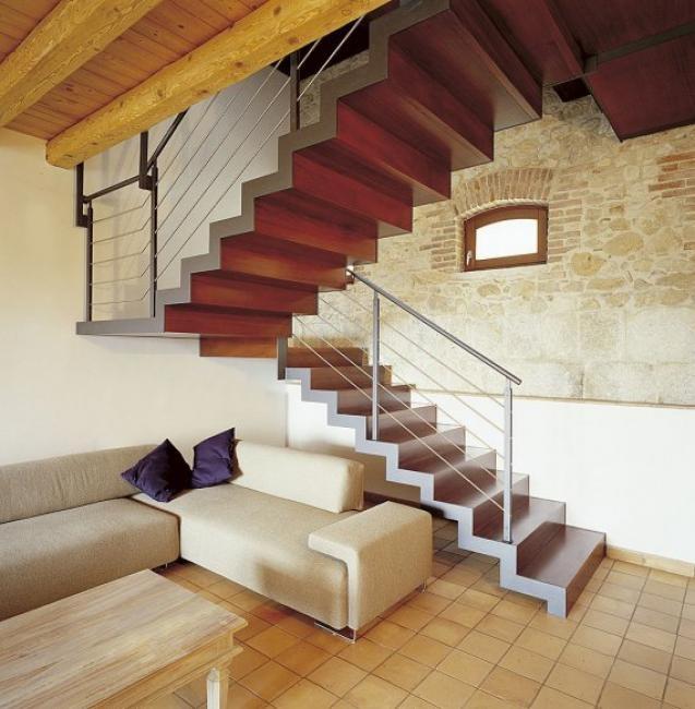 17 mejores ideas sobre escaleras de madera modernas en pinterest ...