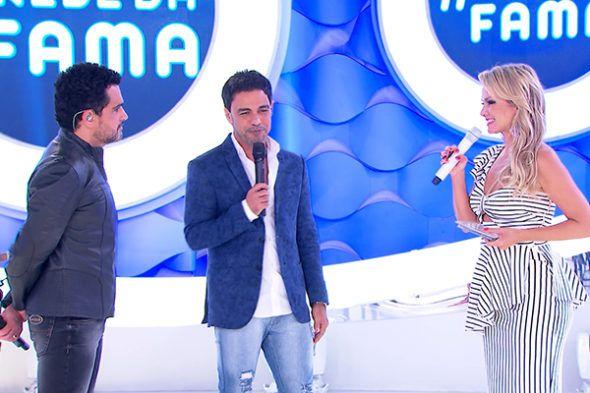 """Eliana volta com inéditos e recebe Zezé di Camargo & Luciano no """"Rede da Fama"""""""