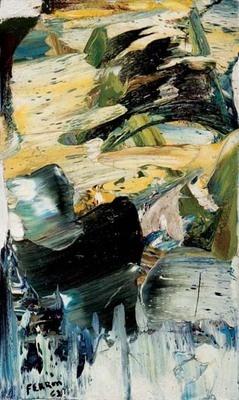 Untitled 1962 Marcelle Ferron oil on canvas (21x15 1/2 in) 1962. Follow the biggest painting board on Pinterest: www.pinterest.com/atelierbeauvoir