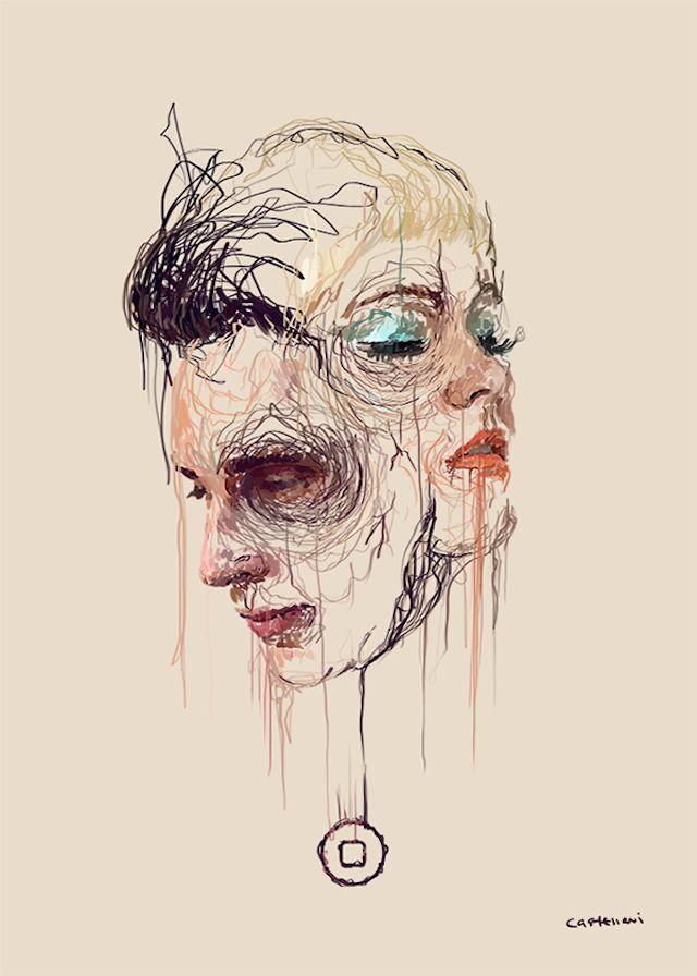 Drip-efecto Pinturas por Marcello Castellani   iGNANT.de