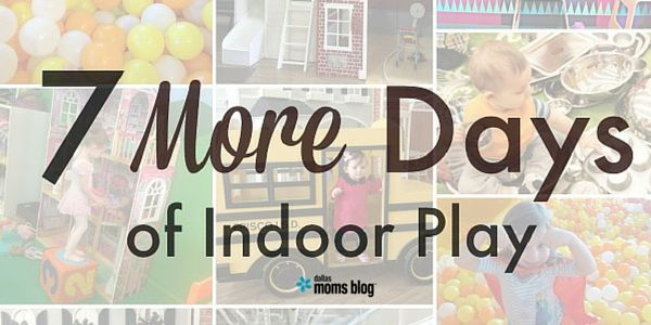 A list of fun indoor play places for kids in Dallas.