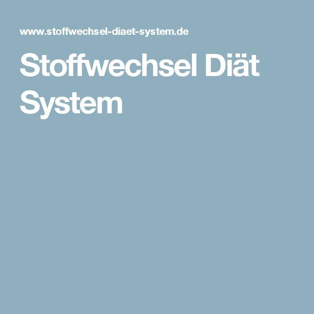 Stoffwechsel Diät System
