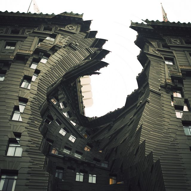 Twisted Architecture by Nicholas Sitton