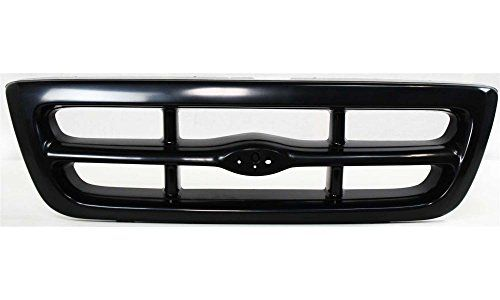 Evan-Fischer EVA17772011905 Grille for Ford Ranger 98-00 Black Splash/(XL/XLT -2WD) Models Replaces Partslink# FO1200344  FREE 1-year UNLIMITED mileage warranty coverage on Evan-Fischer items purchased thru AUTO PARTS GIANT Store  A high quality, Direct Fit OE Replacement Grille from Evan-Fischer  Plastic, Black  With emblem provision  Replaces OE Number F87Z8200FA and Replaces Partslink Number FO1200344