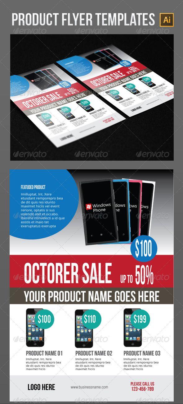 105 best Print Templates images on Pinterest Print templates - product flyer