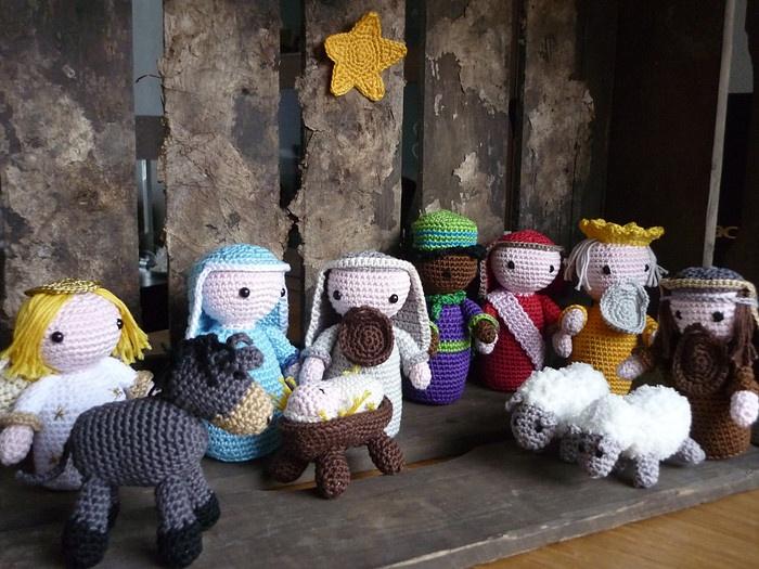 Amigurumi Nativity : 391 best images about CROCHET NAVIDAD on Pinterest Free ...