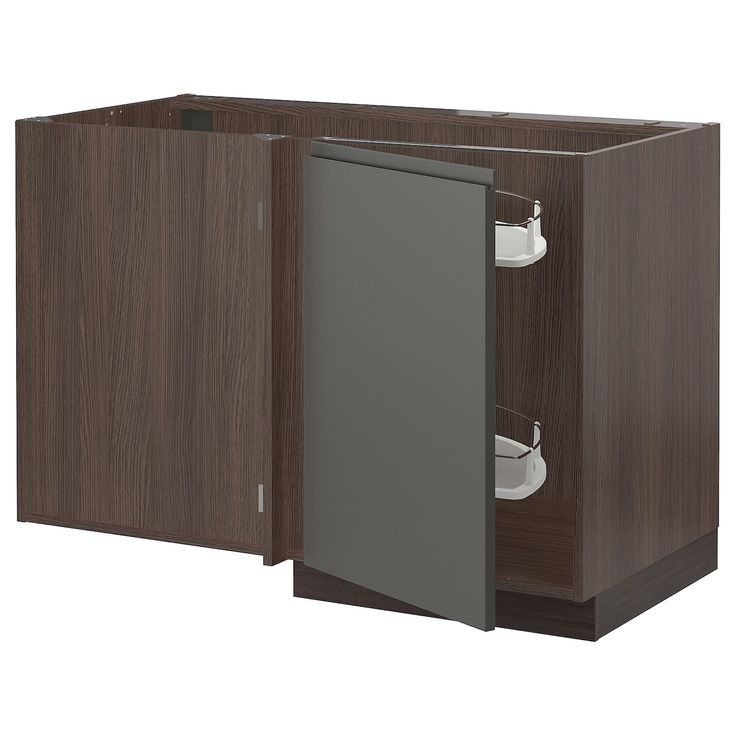 Best Sektion Corner Base Cab W Pull Out Fitting Brown 400 x 300
