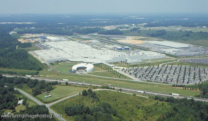 The BMW Manufacturing Facility in Spartanburg Sc Big